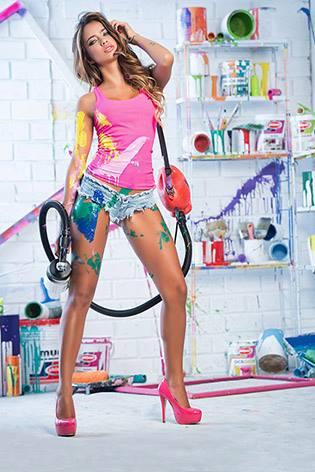 agencia de modelo estudio de fotos top model campaña de publicidad afiches diseño web internet publicar